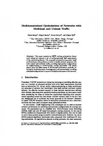 Multiconstrained Optimization of Networks with ... - Springer Link