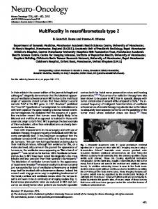 Multifocality in neurofibromatosis type 2