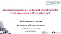 (multimorbidity) in mid-aged women and beyond
