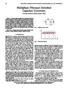 Multiphase Fibonacci Switched Capacitor Converters - IEEE Xplore