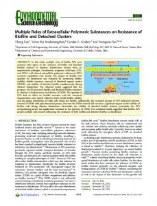Multiple Roles of Extracellular Polymeric ... - ACS Publications