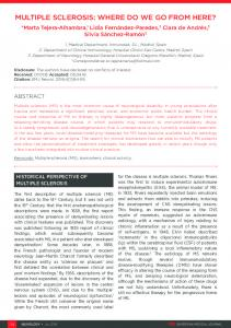 multiple sclerosis: where do we go from here? - European Medical ...