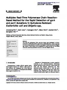 Multiplex Real-Time Polymerase Chain Reaction-Based Method for ...