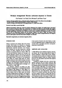 Multiply remagnetized Silurian carbonate sequence in Estonia