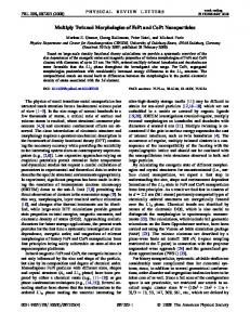 Multiply Twinned Morphologies of FePt and CoPt Nanoparticles