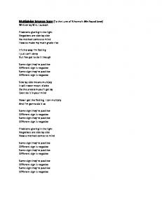 Multiplying Integers Song (To the tune of Rihanna's We Found Love ...