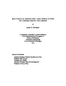 MULTISCALE MODELING AND SIMULATION OF