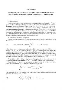 Multivariate infinitely divisible distributions with the gaussian second ...