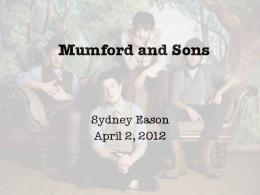 Mumford and Sons picture - WordPress.com