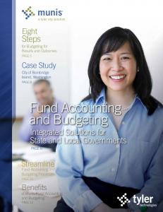 Munis Fund Accounting and Budgeting - Tyler Technologies
