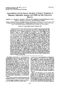 Muramyl Dipeptide Analogs and Different Mycobacterial - NCBI