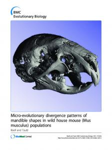 Mus musculus - MPG.PuRe