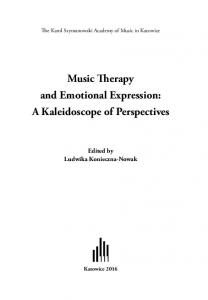 Music Therapy and Emotional Expression: A