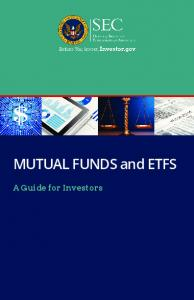 Mutual Funds: A Guide for Investors