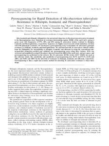 Mycobacterium tuberculosis - Journal of Clinical Microbiology