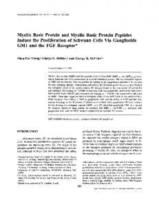 Myelin Basic Protein and Myelin Basic Protein ... - Springer Link