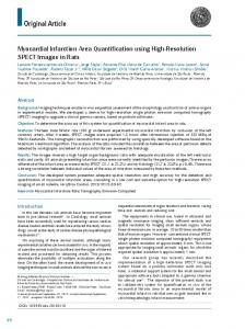 Myocardial Infarction Area Quantification using High-Resolution