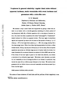 N-spheres in general relativity: regular black holes without apparent ...