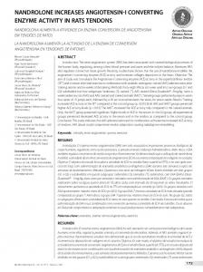 nandrolone increases angiotensin-i converting enzyme ... - SciELO