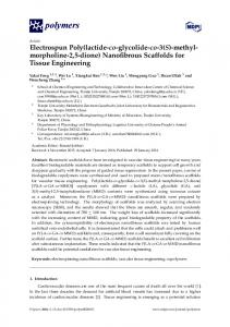 Nanofibrous Scaffolds for Tissue Engineering - MDPI