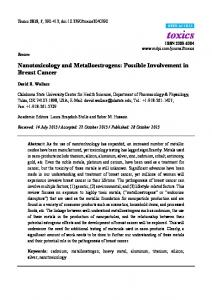 Nanotoxicology and Metalloestrogens: Possible Involvement in ... - MDPI