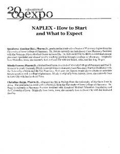 NAPLEX - How to Start and What to Expect - CEI