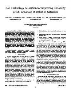 NaS technology allocation for improving reliability of DG ... - IEEE Xplore