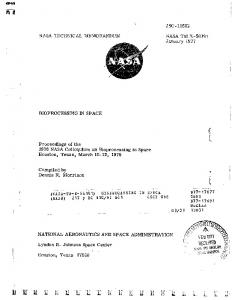 NASA TECHMCAL N6EMORmE)UR.I NASA TM X- 5819 1 ... - NTRS