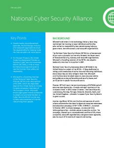 National Cyber Security Alliance - Download Center - Microsoft