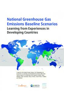 National Greenhouse Gas Emissions Baseline Scenarios