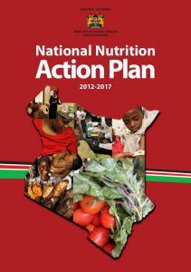 National Nutrition Action Plan - Scaling Up Nutrition