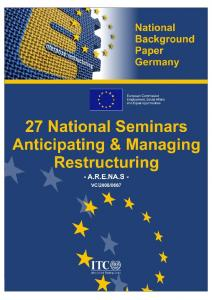 National restructuring semina... - European Commission