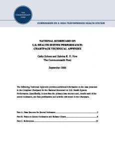 National Scorecard on US Health System ... - The Commonwealth Fund