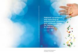 National surveillance and reporting of antimicrobial ...