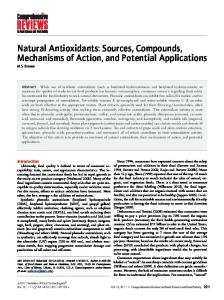 Natural Antioxidants - Wiley Online Library