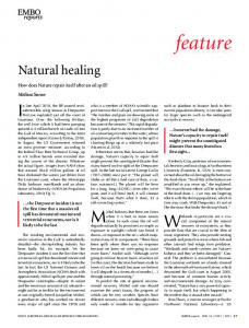 Natural healing - Wiley Online Library