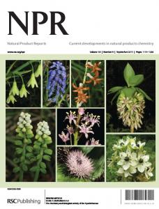 Natural Product Reports Current developments in natural products ...
