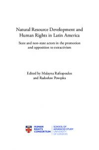 Natural Resource Development and Human Rights in