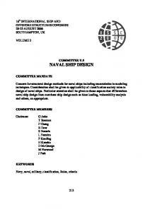 naval ship design
