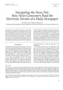 Navigating the News Net: How News Consumers