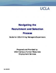 Navigating the Recruitment and Selection Process