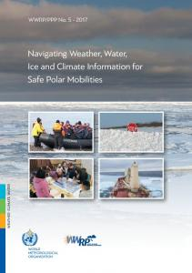 Navigating Weather, Water, Ice and Climate Information ... - ePIC - AWI