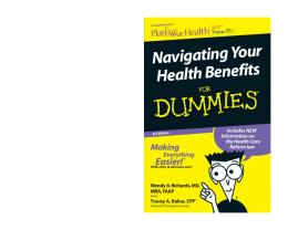 Navigating Your Health Benefits For Dummies, 3rd Edition