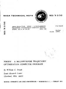 NBODY - NASA Technical Reports Server (NTRS)