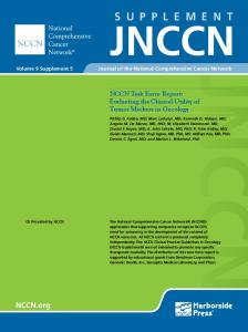 NCCN Task Force Report