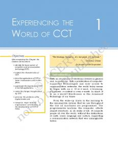 NCERT Class 11 Computers and Communication ... - CBSE