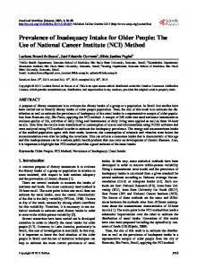 (NCI) Method - Scientific Research Publishing