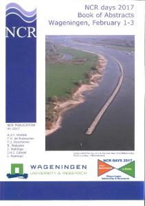 NCR days 2017 Book of Abstracts Wageningen ...