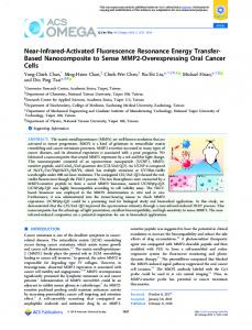 Near-Infrared-Activated Fluorescence Resonance ... - ACS Publications