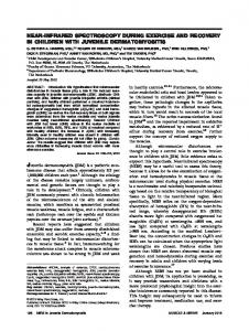 Nearinfrared spectroscopy during exercise and recovery in children ...